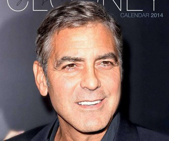 Calendrier George Clooney 2015