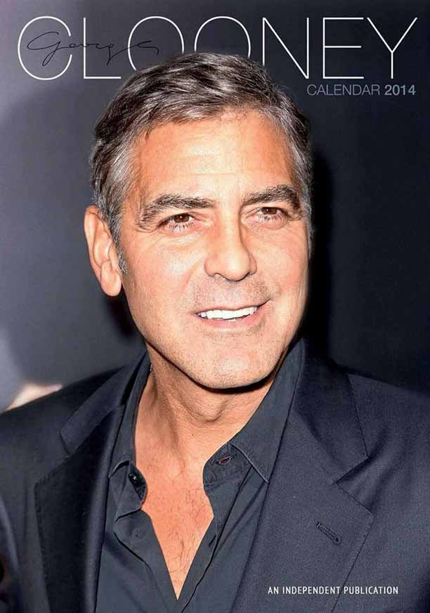 Calendrier George Clooney 2014 non officiel