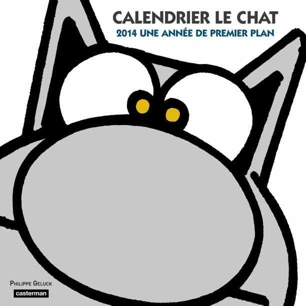 Calendrier Le Chat 2014 officiel