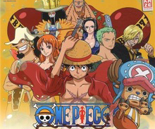 Calendrier One Piece 2014