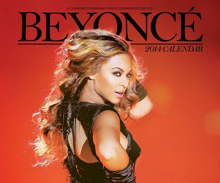 Calendrier Beyonce 2014