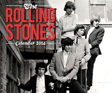 Calendrier Rolling Stones 2014
