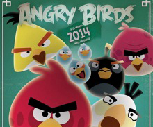Calendrier Angry Birds 2014
