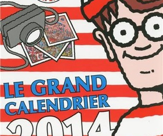 Calendrier Charlie 2015