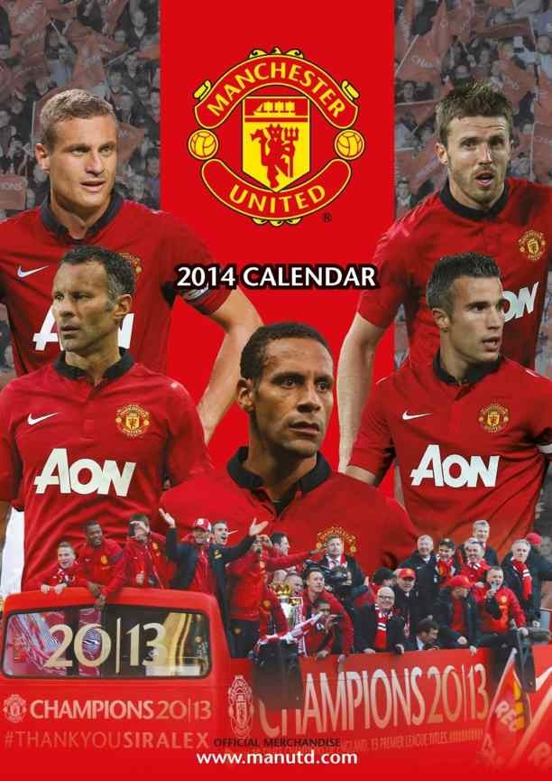 Calendrier Manchester United 2014