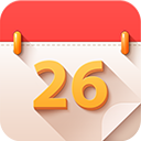 5 Oclock Shades Calendar : icone de calendrier orange par PixelKit