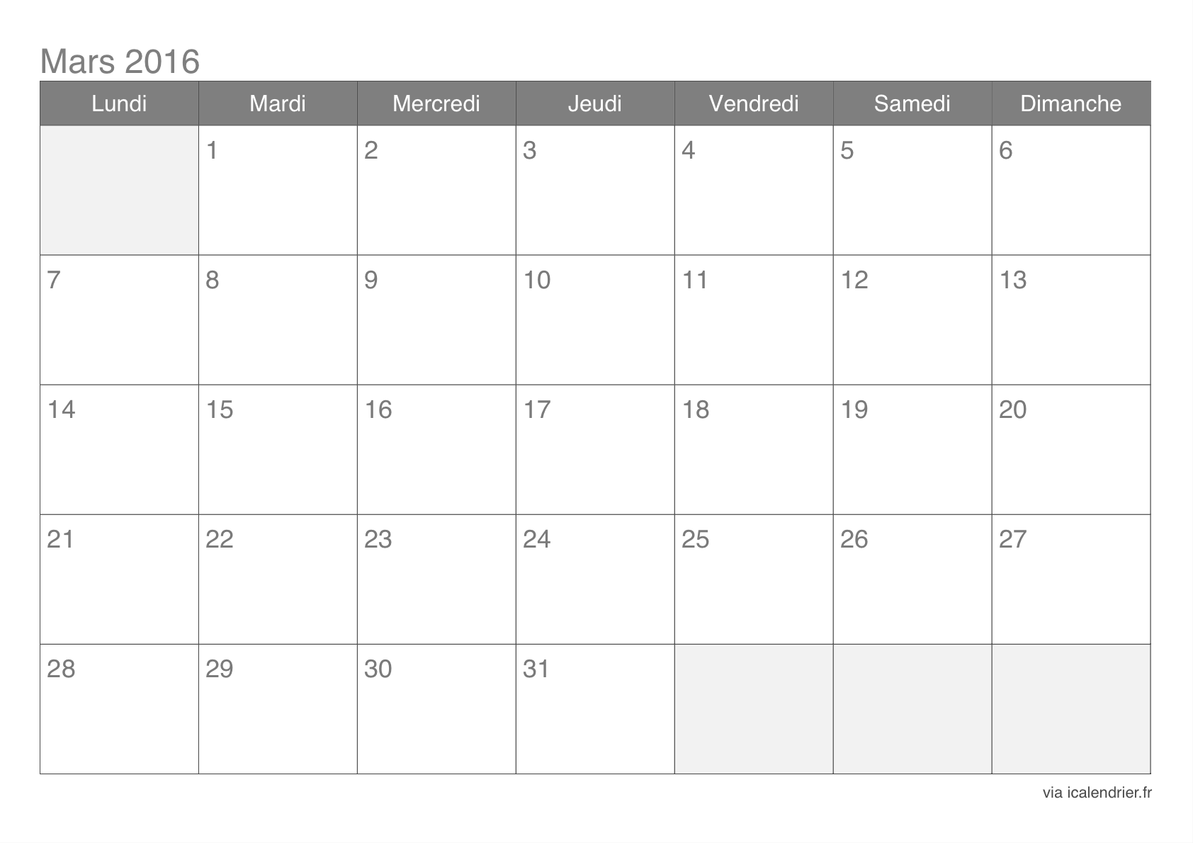 Microsoft Word 2016 Monthly Calendar Templates A3