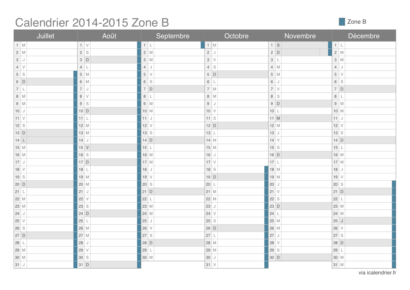 calendrier semestriel 2016 excel search results calendar 2015. Black Bedroom Furniture Sets. Home Design Ideas